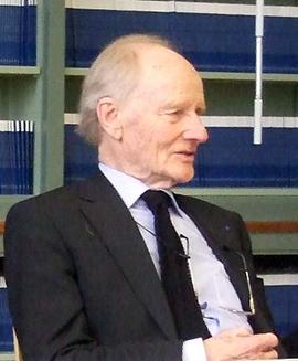 Prof. Dr.  Robert Spaemann, der deutsche Unterzeichner der Erklärung. Foto: Jörg Noller.