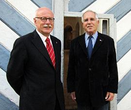 Prof. Dr. Hans Ulrich Rudolf und Elmar L. Kuhn